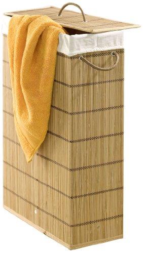 Wenko waston, extra smal, bamboe, 39 x 60 x 18,5 cm, bruin