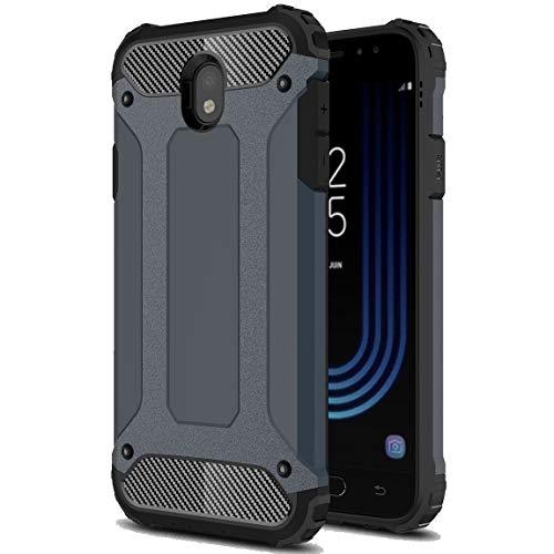 J&H Capa protetora Armour para Samsung Galaxy J7 Pro (2017), Galaxy J7 Pro (2017), capa rígida resistente, capa híbrida de camada dupla à prova de choque para Samsung Galaxy J7 Pro (2017)