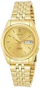 Seiko SNK366K Men's Gold Wrist Watch