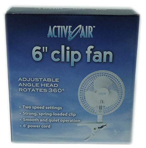 Active Air Clip-On Fan