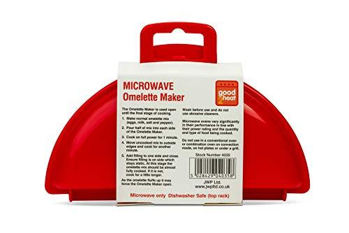 good2heat Microwave 2 Egg Omelette Maker - Red