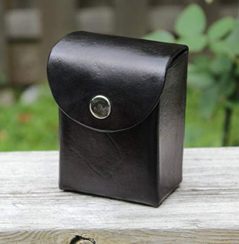 Custom 80 card real leather deck box with belt loop/clip for Yu-Gi-Oh, Magic the Gathering, Pokémon, Cardfight Vanguard and others, Prevent stolen cards with anti theft/theft proof clip, 遊戯王 デッキボックス
