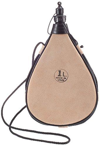 Relags Bota Original Leder Straight 1l Trinkflasche, Braun, 1 Liter