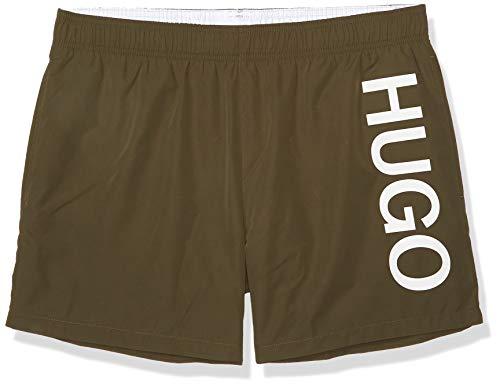 HUGO by Hugo Boss Herren Swim Trunk Badehose, olivgrün, Medium