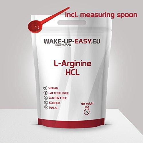 L - arginina pura in polvere 1000g (molto solubile),...