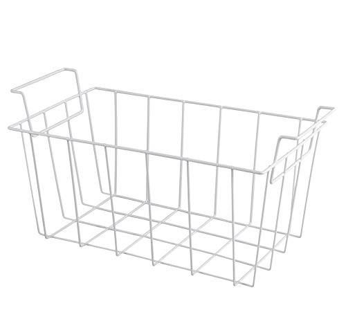 WR21X10208 Freezer Basket Replacement by ATMA SUPPLY Fits for GE refrigerator and Haier RF-0300-29 -Replaces 1535717 AH2356327 EA2356327 PS2356327 RF-0300-20 WR21X10157 WR71X27815 (pack of 1) white