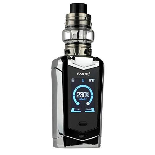 SMOK Species Kit 230 W, mit TFV Mini V2 Clearomizer 5 ml, Riccardo e-Zigarette, prism chrome black