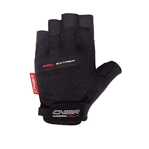 Chiba Erwachsene Handschuh Gel Extrem, schwarz, M
