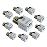 WatchfulEyE WTH-SG/RJ45-S x10pcs Direct in Line Plug-in Ethernet Surge Protector