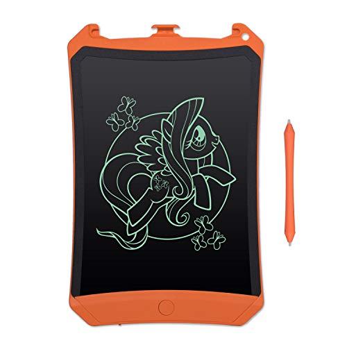 EooCoo Tavoletta Grafica LCD Scrittura 8,5 Pollici, Elettronica Writing Tablet ed eWriters Portatile con Penna & Funzione di Blocco Schermo, Orange