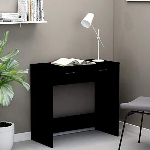 skrivbord ikea svart