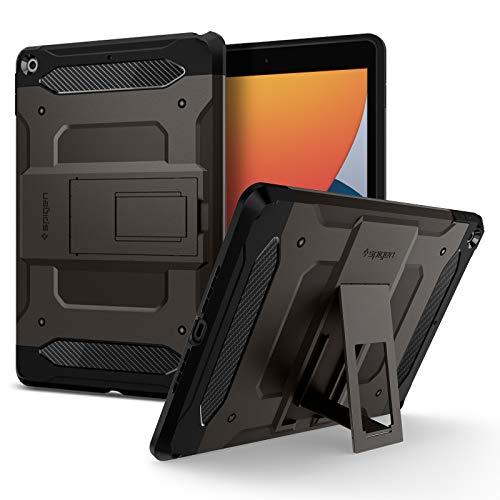Spigen Tough Armor TECH Designed For iPad 10.2 Case, iPad 8th Generation Case (2020) / iPad 7th Generation Case (2019) - Gunmetal