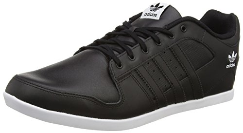 adidas Plimcana 2.0 Herren Sneakers, Schwarz (Cblack/Cblack), 40