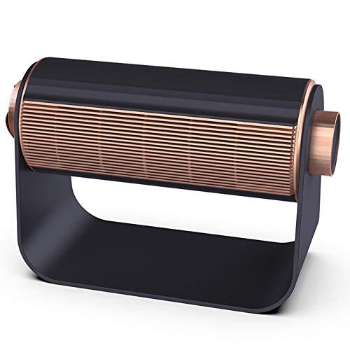 KANGLE-DERI Calentador de Espacio portátil, Sensor Inteligente, Elemento Calefactor de cerámica PТС de 1400 W, Filtro de algodón HEPA, Calentador Seguro y Que Ahorra energía,Dark Blue