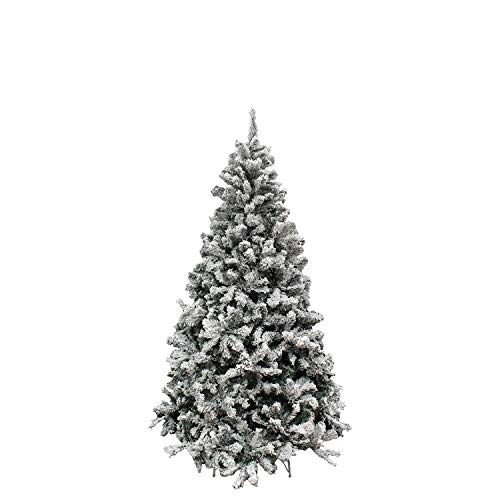 MAURER 5480020 Arbol De Navidad Nevado 180 cm. 758 Ramas. Hojas De...
