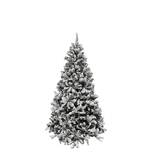 MAURER 5480020 Arbol De Navidad Nevado 180 cm. 758 Ramas. Ho