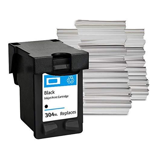 Migaven Cartucho de Tinta, Negro de Gran Capacidad Impresora de inyección de Tinta reemplazo de Cartucho de Tinta Compatible con HP 304XL Deskjet 3720 3730 3700