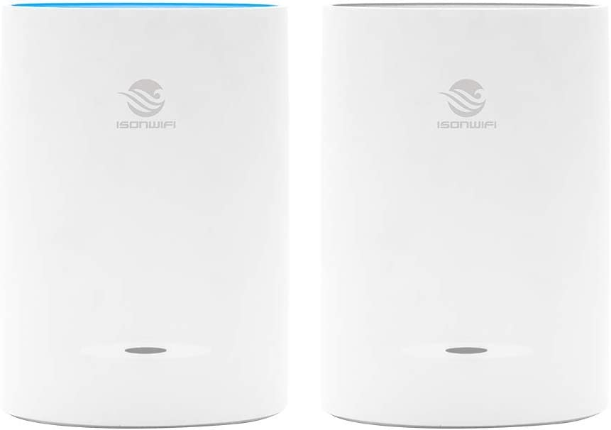 Tri-Band Whole Home Mesh WiFi System with 6.6Gbps Speed – Router & Extender Replacement Covers Up to 2,500 sq. ft. (4.4Gbps)