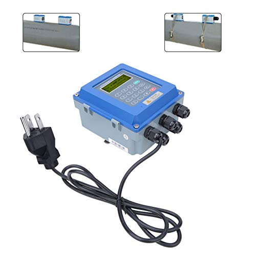 Liquid Flowmeter, Flowmeter high Temperature Resistance Waterproof TUF-2000B Wall Mounted Flowmeter with Isolated RS485 Interface(U.S. regulations)