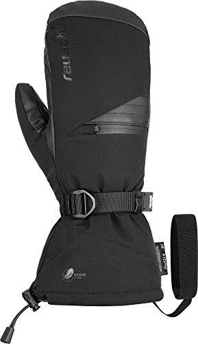 Reusch Unisex_Adult Torres R-TEX XT Mitten Glove, Black, 9.5