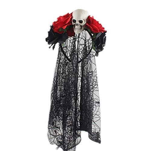 2019 de Halloween Horror de Halloween aro rosas de simulación de enca