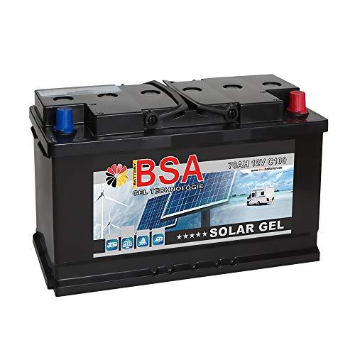 Gel Batterie 70Ah 12V Blei Gel Solarbatterie Wohnmobil Boot Versorgungsbatterie Rollstuhl