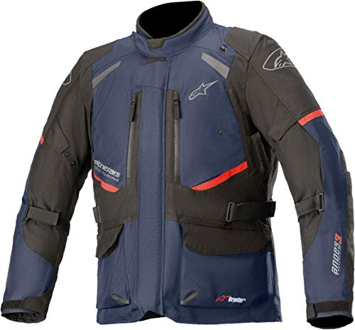 Alpinestars Andes V3 Drystar Giacca tessile moto Blu scuro/Nero S
