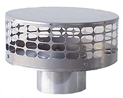The Forever Cap CCFS7 7-Inch Stainless Steel Liner Top Chimney Cap