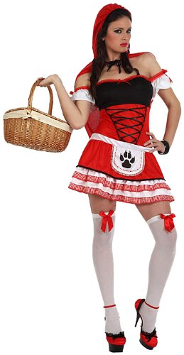Atosa - 10549 - Costume - Déguisement Chaperon Rouge Sexy - Taille 2