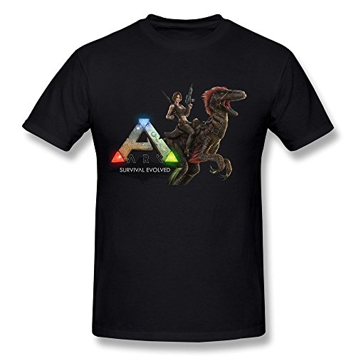 sneakeye Heren Ark Survival Evolved Game O-hals T-Shirt