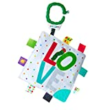 KIDS PREFERRED World of Eric Carle Double Sided Teether Taggy Blanket for Babies