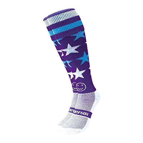 WackySox Milky Way Sport-Socken Junior Shoe Size 12-2
