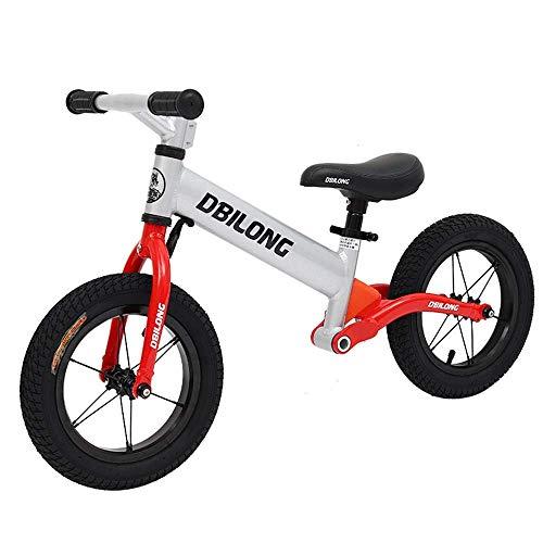 LHQ-HQ Bicicletas niños a equilibrar el Balance de Bicicletas for niños y los niños Sport Bike Balance Sin Pedal Andador Bicicleta con Acero al Carbono de Aluminio Ajustable del Manillar y el Asiento