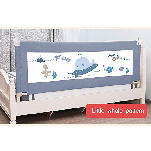 PU Home Bed Rail, barandilla de seguridad plegable individual con malla ventilada para niños pequeños - Protector de cama para niños -1.5M / 1.8M / 2.0M Bedrail,C,1.5m