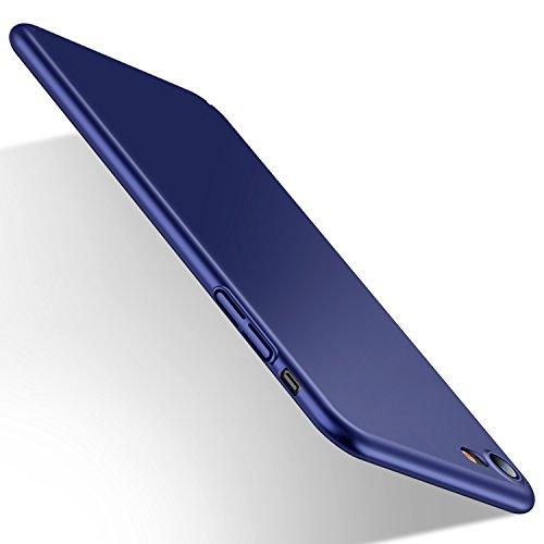 Humixx iPhone 8 Hülle, iPhone 7 Hülle,Hochwertigem Stoßfest, Anti-Fingerabdruck, Anti-Scratch FeinMatt FederLeicht Hülle Bumper Cover Schutz Tasche Schale Hardcase für iPhone 8/7-Blau