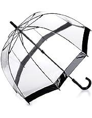 Fulton Birdcage - Paraguas Transparente Negro