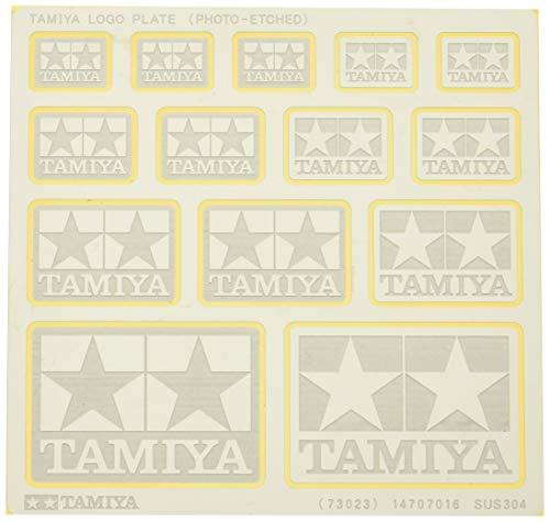 タミヤ ディスプレイグッズシリーズ No.23 タミヤロゴプレート エッチング製 73023
