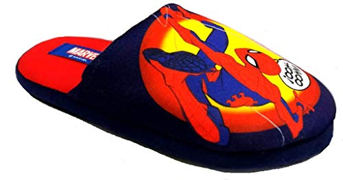 de fonseca Marvel Spider-Man Ciabatte Bimbo MOD. Roma E K691 Rosso (Numeric_32)
