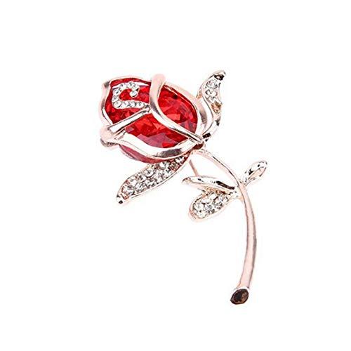 Yililay Broche de Solapa Ropa Accesorios Creativo Colorido Broche de Flor romántica de Vacaciones Regalo para Las Mujeres