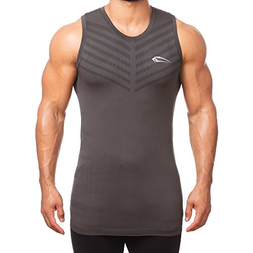 SMILODOX heren Seamless Tank Top Arrow