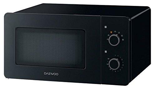 Daewoo KOR-5A17B Mikrowelle (freistehend, Nur Mikrowelle, 15 l, 500 W, Drehknöpfe, Schwarz)
