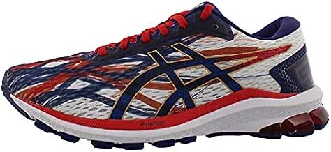ASICS Men's GT-1000 9 Running Shoes, 10.5, White/Dive Blue