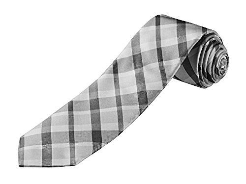 Mercedes Benz Men's Check Necktie Tie