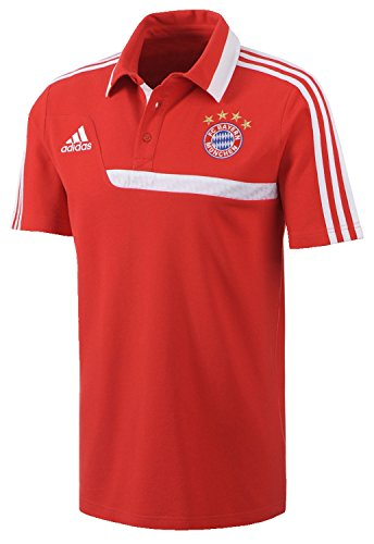 adidas FC Bayern München Poloshirt Herren 48 - 5