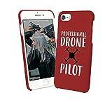 Fly_001399 - Cover per smartphone con scritta 'Drone Pilot', compatibile con iPhone 6, iPhone 6S, divertente regalo di Natale
