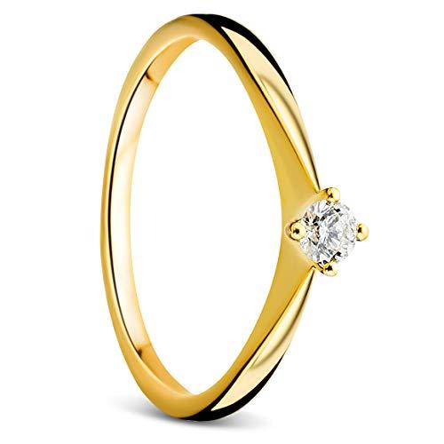 Orovi Mujer 9 k (375) oro amarillo 9 quilates (375) IJ Diamond