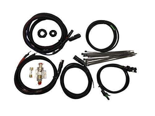 Kustom Cycle Parts Aftermarket Saddlebag Amplifier and Speaker Wiring Kit. Universal fit for All Motorcycles. Plug and Play. Harley Davidson, Victory, Indian, Honda. Made in The USA