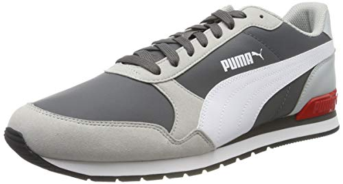 PUMA St Runner V2 NL, Zapatillas Unisex Adulto, Gris (Castlerock-High Rise White-High Risk...
