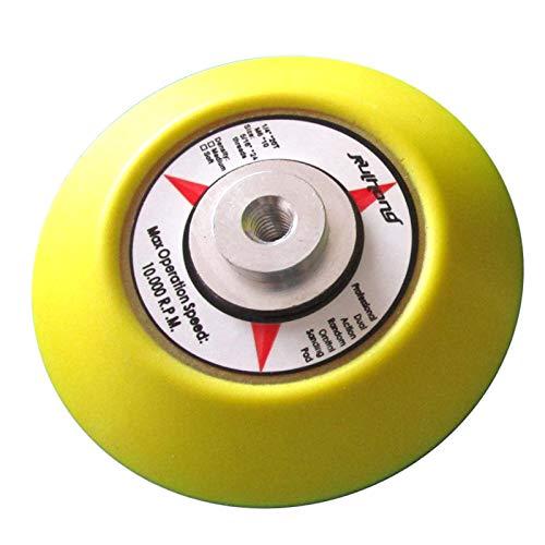 Almohadilla de respaldo de velcro SENRISE de 75 mm, adhesivo mágico, almohadilla...