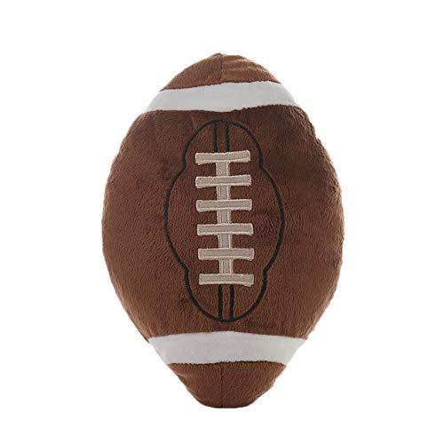 Rugby Pluche Pop|Gevulde Chubby 3D Rugby Toy|Rugby Gooi Kussen|Simulatie Basketbal Voetbal Speel Speelgoed|Pluche Knuffel Kussen